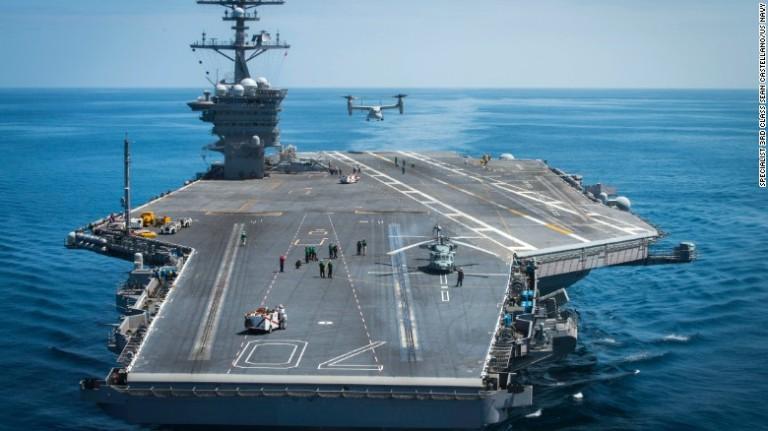 Carrier, deployment Korea
