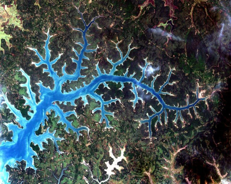 River fractal