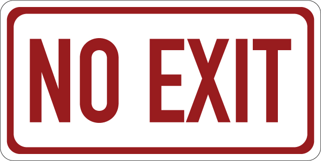 no-exit-12x6